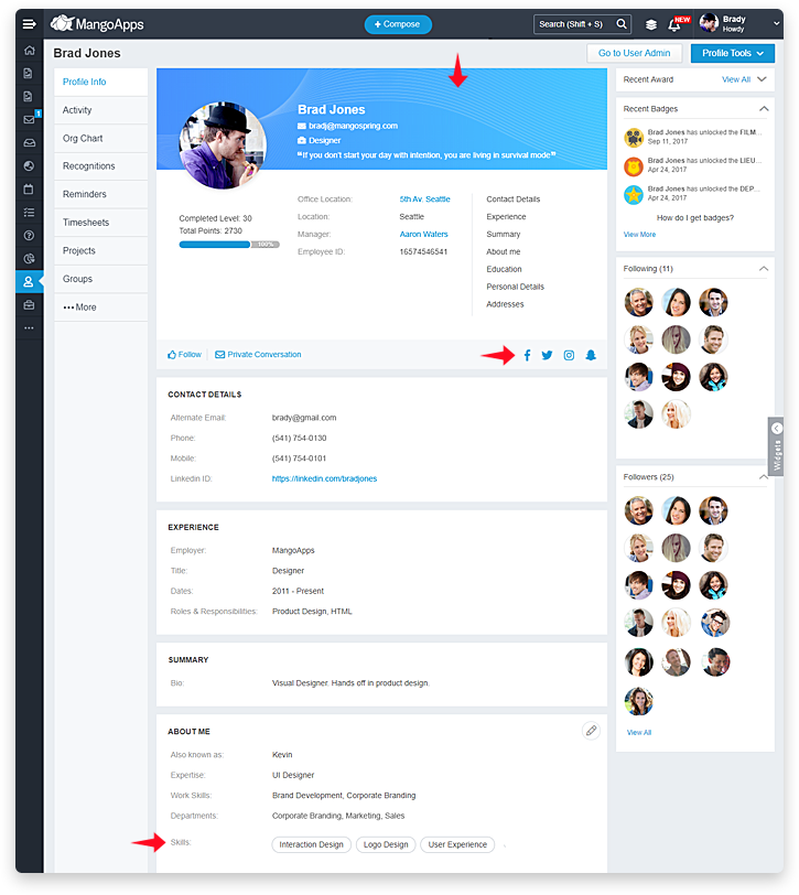 Connect Your Workforce with employee profiles