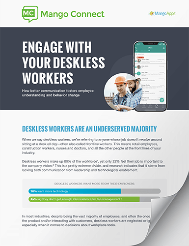 Whitepaper: Engage with your deskless workers