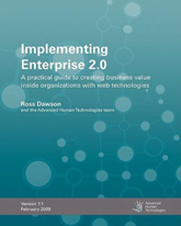 Implementing Enterprise 2.0 -Enterprise Social Business Books