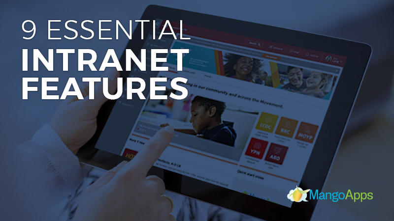 essential intranet features