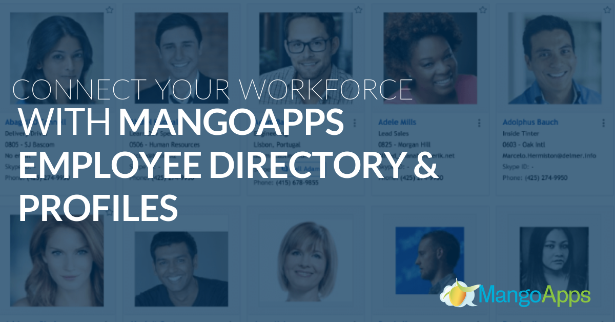 Connect Your Workforce with MangoApps Employee Directory