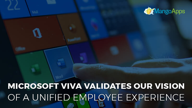 Microsoft Viva validates our vision of a unified employee experience