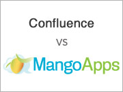confluence vs Alternative to Confluence MangoApps- Bets Social Intranet Software Comparison