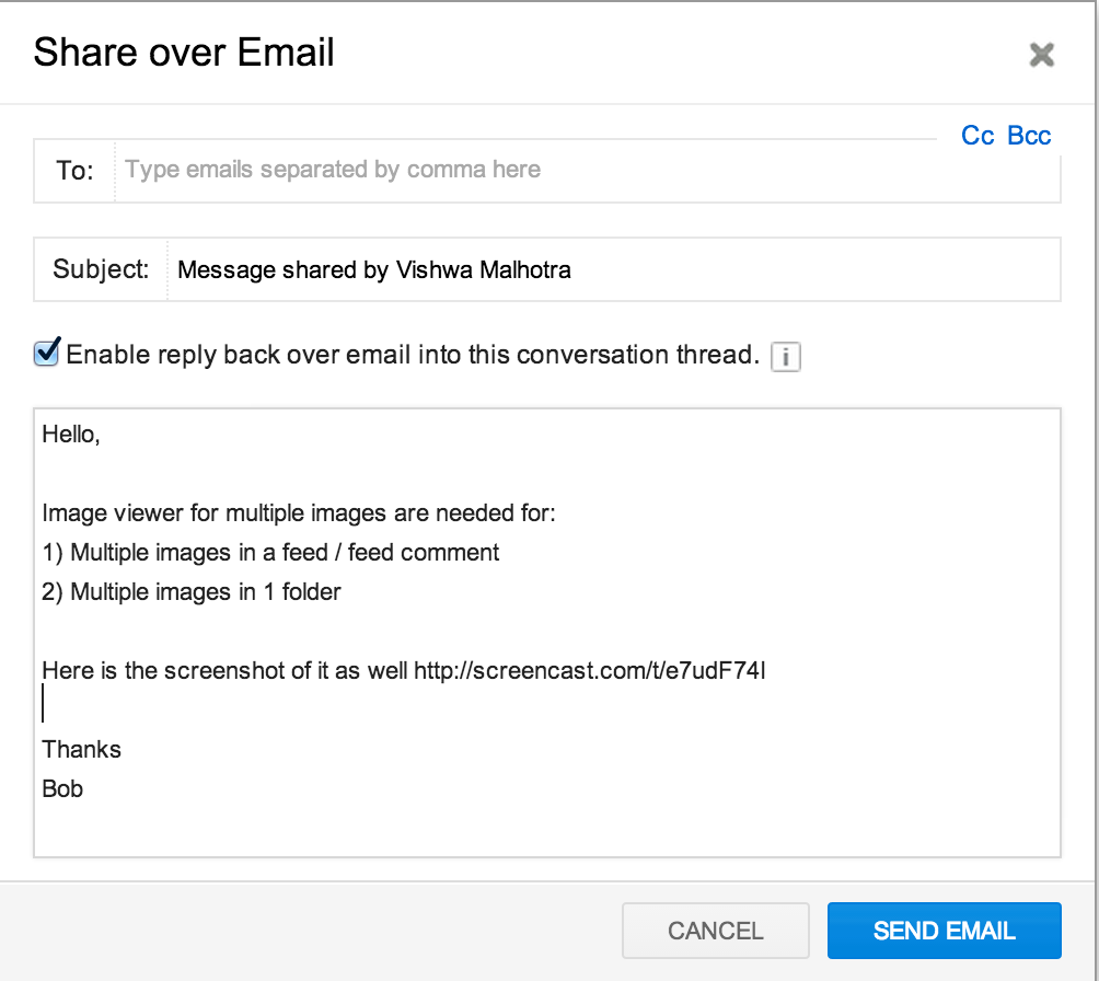 share-over-email