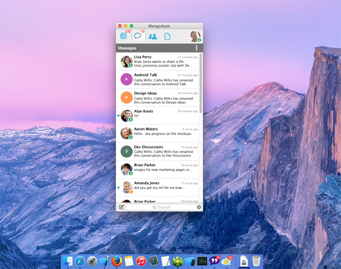 MangoApps for Mac is now fully supported on the new OS X Yosemite (10.10).