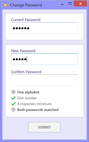Domain admins can now select a password strength to enforce for their users.