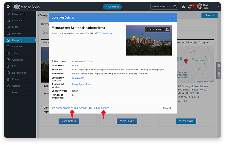 New Features & Improvements In The Web App « MangoApps