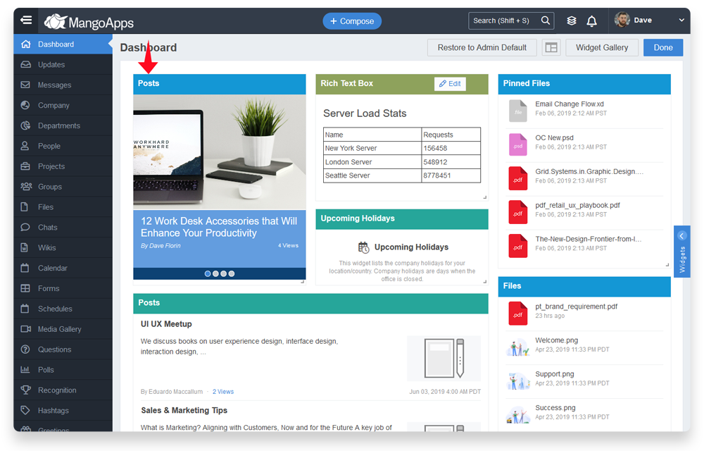 15 New Usability Improvements « MangoApps Release Notes