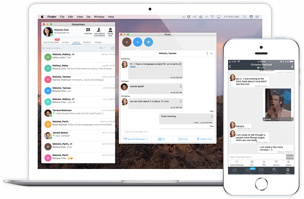 Instant Messaging From Anywhere
