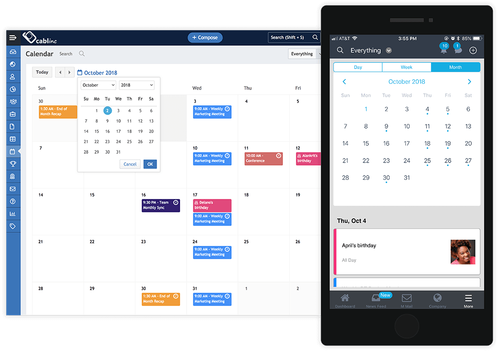 Plan and Communicate Events With Department Calendar