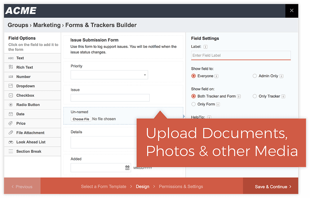 Collect Documents and File Attachments