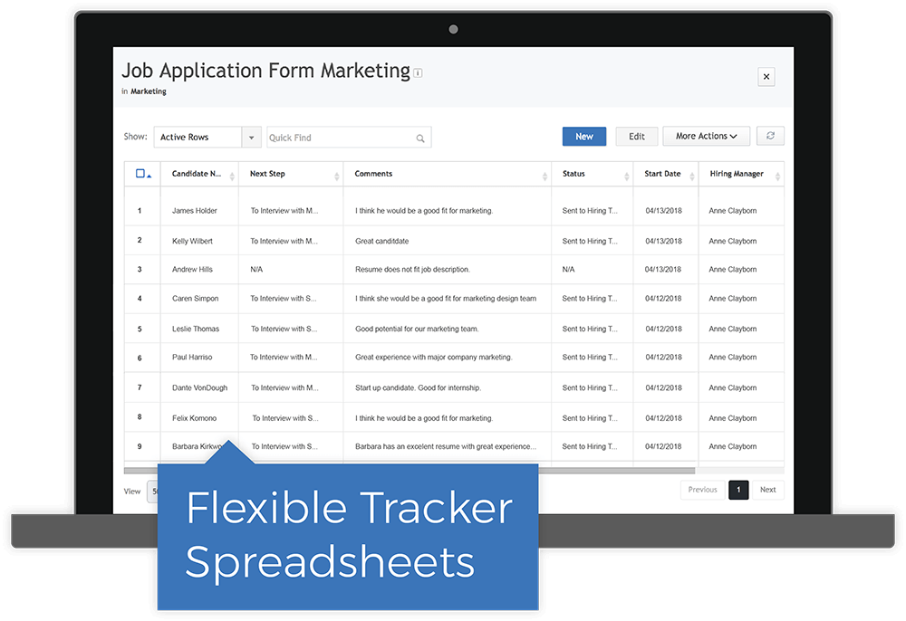 Automate Workflows With Trackers