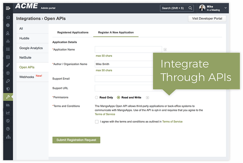 MangoApps OpenAPI Based Integrations