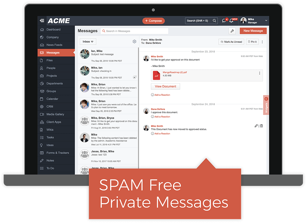 Replace Email With Powerful Private Messages