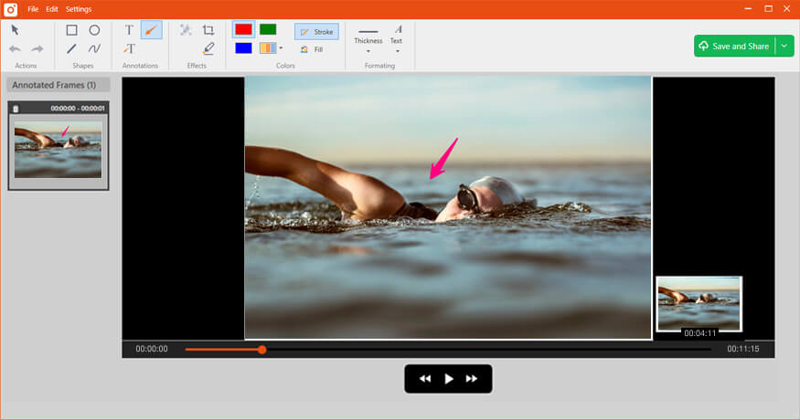 Capture and Annotate Videos