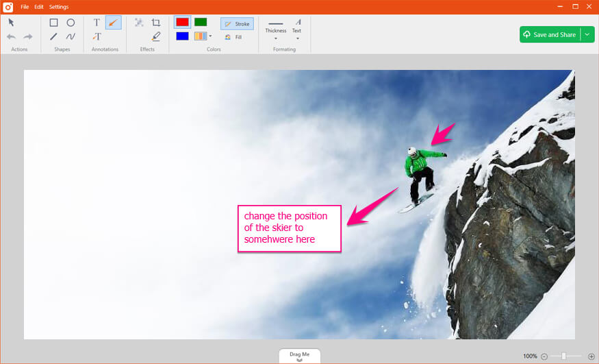 Capture and Annotate Images