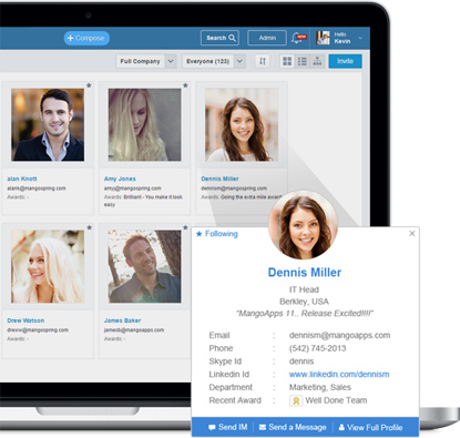 Intranet Employee Directory  Integrated With Active Directory