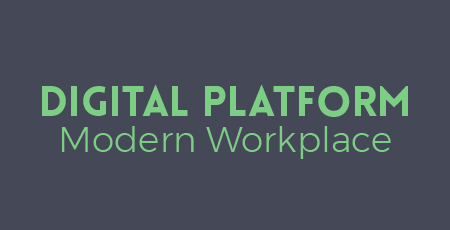 Digital Hub Platform for a Modern Workplace