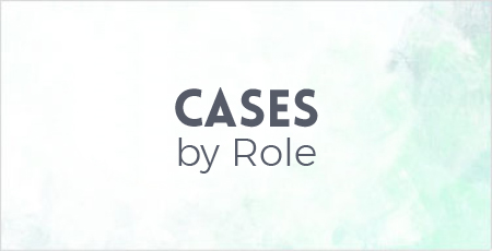 Use Cases By Role
