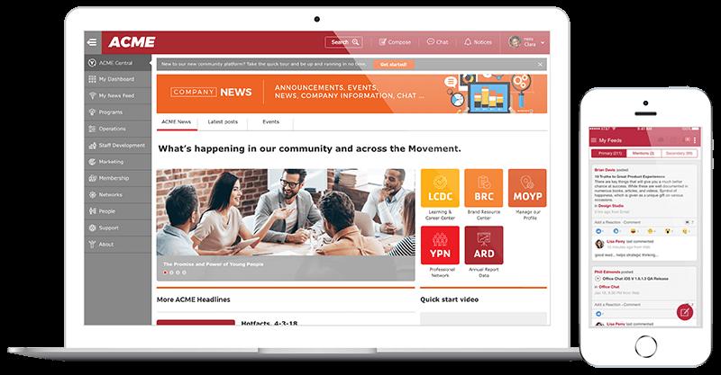 Intranet Features - Intranet & Portal App